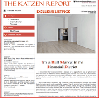 Issue 7, March 2007: It's a Bull Market in the Financial District