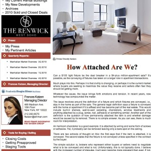 Issue 29, February 2011: How Attached Are We?