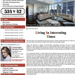Issue 31, May 2011: Living In Interesting Times