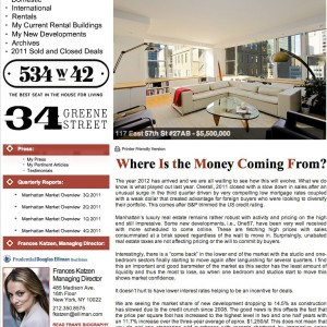 Issue 34, January 2012: Where Is the Money Coming From?