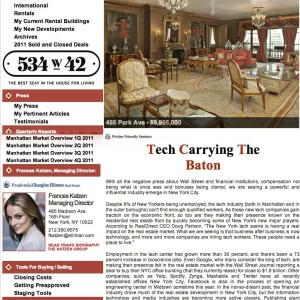Issue 37, April 2012: Tech Carrying The Baton