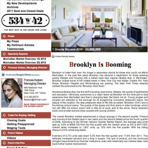 Issue 39, September 2012: Brooklyn Is Booming
