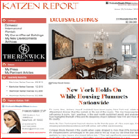 Issue 25, October 2010: New York Holds On While Housing Plummets Nationwide
