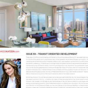 Issue 69 – Transit Oriented Development